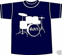 DRUMS ** ROCK **  T-shirt ** NEW ** FUNNY Size SMALL