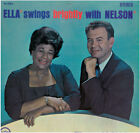"ELLA FITZGERALD ""ELLA SWINGS BRIGHTLY WITH NELSON"" LP"