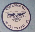 BONDI BOWLING CLUB DRINK COASTERS