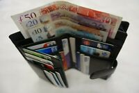 Soft Leather Ladies Purse Wallet 18 Credit Cards Slot