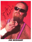 Autographed Jim Neidhart Photo, WWF Wrestling WWE WCW