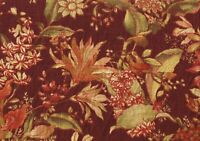 Richloom Fabric    Wentwort    Burgundy