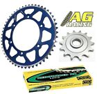 Yamaha YZ 250 99-11 Regina 520 RH Chain Sprocket Set 13T 48T Blue