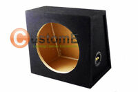 """15"""" WEDGE ROUND SUBWOOFER ENCLOSURE BASS BOX 4 ALL SUBS"""