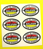 RALEIGH style Vintage Cycle Frame Decals Stickers
