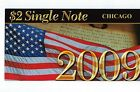 2009 $2 Single Note Chicago Fed District 2003 A Low #