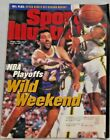 VLADE DIVAC LAKERS vs SEATTLE SUPERSONICS 1995 SPORTS ILLUSTRATED