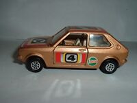 CORGI TOYS VOLKSWAGEN POLO RALLYE CAR OLD USED CON'D NICE LOOK AT THE PICTURERS