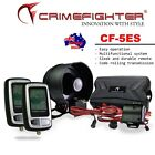 New CrimeFighter CF5 One Way Remote Start Car Alarm