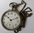 RARE ZENITH SWISS POCKET WATCH-GRAND PRIX PARIS 1900