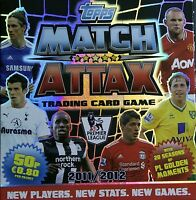 MATCH ATTAX 11 12 - PICK CHOOSE 16 CARD SETS  INC MAN  FROM £1.35  FREE UK POST