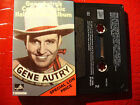 GENE AUTRY TAPE GENE AUTRY'S COUNTRY MUSIC HALL OF FAME ALBUM