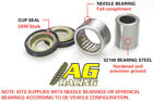 All Balls Shock Upper Bearing Kit Honda CR 80 RB 97-02