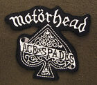 MOTORHEAD Ace Of Spades Iron On/Sew On Patch Emo Goth Punk Rock