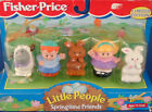 Fisher Price Little People SpringTime Friends EASTER Limited Edition 1997 new