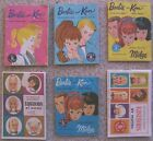 Vintage BARBIE KEN MIDGE SIX Miniature FASHION CATALOGS 1960s MATTEL TOYMAKERS