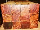 50 pieces of 2 x 2 x 2.5 inches long COCOBOLO rosewood, wine bottle stoppers
