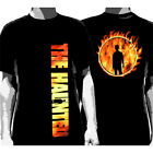 The HAUNTED - Flames Silhouette:T-shirt - NEW - XSMALL ONLY