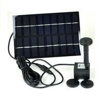 Instapark GYD-0018 Solar Panel Power Fountain Pond Water Pump Birdbath