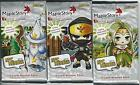 "3 x Factory Sealed Maple Story NPC Heroes ""Set 4"" Booster Pack"