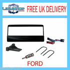 FP-07-00 FORD FOCUS 1998 TO 2004 BLACK FASCIA FACIA FITTING KIT PLATES ADAPTOR