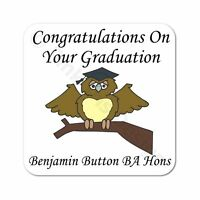 Congratulations Graduation Exams Passed Personalised Gift Coaster