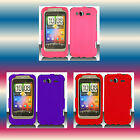 Pink+Purple+Red HTC Wildfire S/Marvel Snap-on Phone Cover Hard Shell Case Skin