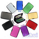 Useful Waterproof Business ID Credit Card Wallet Holder Aluminum Metal Case Box