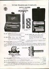 1920 ad Gillette # 460 # 466B Heavy Gold Plate Ever Ready Gem Safety Razors