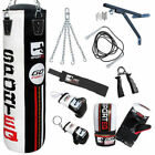 BOOM Pro 4ft Boxing Punch Bags,Bag Gloves,MMA Fitness,Wall Bracket Training Set