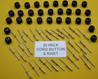 30 PIECE CORD BUTTON KIT FOR TRAY UTILITIES (TARP CLIP) (TNSAC04)