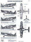 Berna Decals 1/72 MORANE SAULNIER MS 406 French WWII Fighter