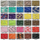 550 Reflective Paracord Parachute Cord MIL SPEC TYPE III 8 Strand Core 25,50,100