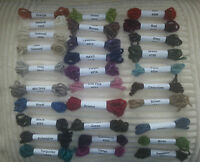 COMPLETE 29 SAMPLE PACK 100% Wool  Aran Tweed  Ireland by Donegal Yarns Kilcarra