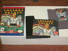 NES Nintendo Caesars Palace Complete w/ box instructions