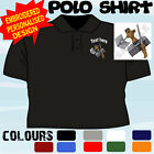 PERSONALISED EMBROIDERED DRYWALL INSTALLER PLASTERER WORKWEAR T POLO SHIRT
