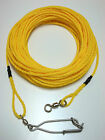 30ft Spearfishing floating line string rope scuba freediving snorkeling 1/4 YLW