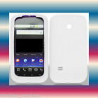 Smooth Silicon White T-Mobile Prism/Huawei Astro c8650 Soft Gel Skin Cover Case
