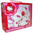 71 PC HELLO KITTY PARTY SET PLATE NAPKINS HATS CUPS TABLE COVER BAGS XMAS 22643