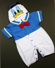 Infant Baby Donald Duck Romper Halloween Party Costume Cosplay Outfit NB-18Month