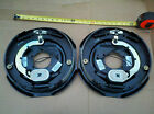 """(2) Trailer 12"""" x 2"""" Electric Brakes Left Right 6000 7000 lb Axle FREE SHIPPING!"""