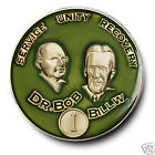 YRS 1-35 Dr. Bob & Bill W. AA Anniversary Recovery Coin/Medallion Sage Green