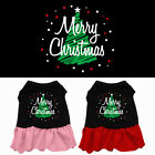 Scribble Merry Christmas Pet Dog Dress Clothes