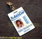 WORKAHOLICS Blake Henderson TelAmeriCorp PVC ID Card Badge Ders NEW