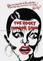 THE ROCKY HORROR PICTURE SHOW  POSTER ART PRINT A3 SIZE GZ2383