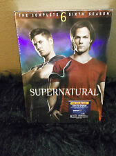 Supernatural The Complete sixth Season DVD, 2011, 6-Disc Set  Jensen Ackles