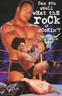 POSTER: WRESTLING: WWF: THE ROCK - CAN YOU SMELL - FREE SHIPPING ! #3455 RP56 K
