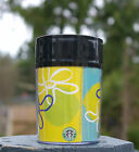 Starbucks Coffee Company 1997 8oz ThermoServ Travel Tumbler Smiley Face Flowers