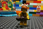 LEGO 8805 CAVEGIRL Minifigure Series 5 Bone Hair Club Stone Age Flintstone