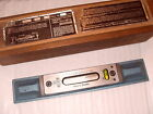 """Memo No.3 Engineers Precision Level - 9 3/4"""" Length Made In Sweden - As Photo"""